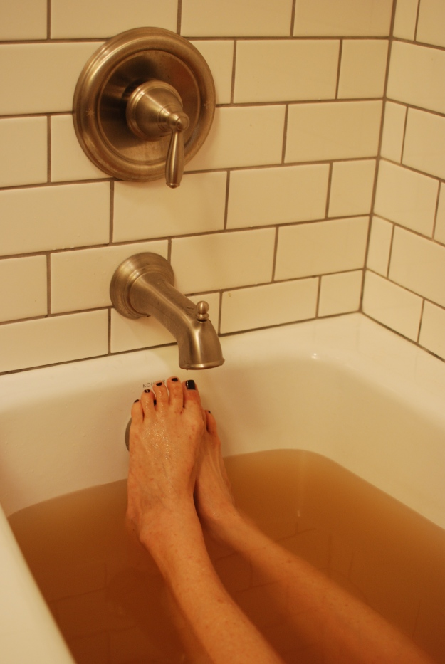 There was rejuvenation. Extra special Idahoian mineral bath.
